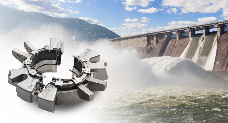 Split seals for hydropower turbines
