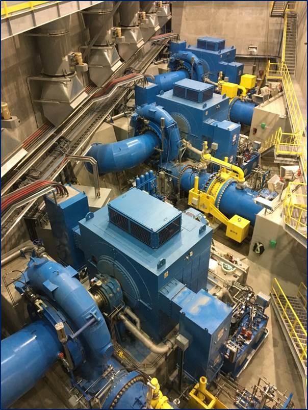 sealing main shaft hydropower turbines