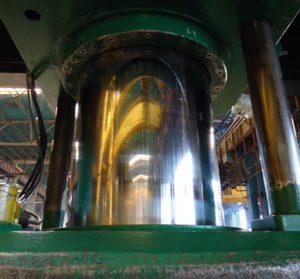 Worn Hydraulic Cylinder
