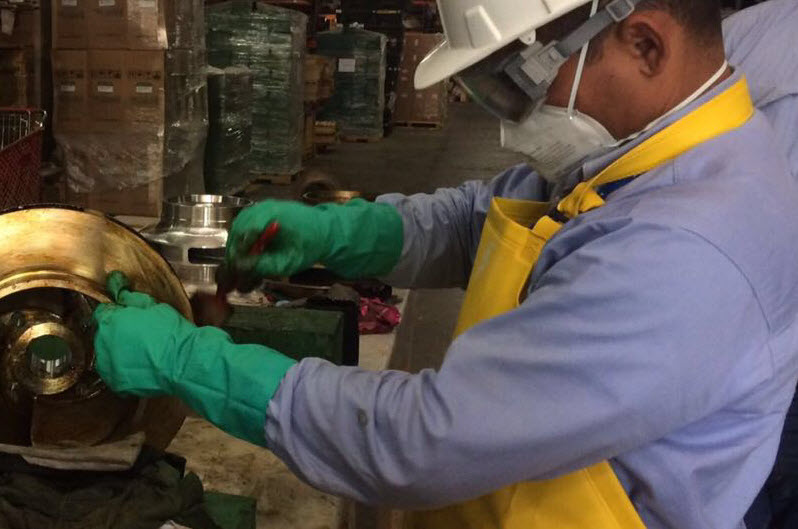 A.W. Chesterton Inventory Preservation - Training